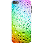 Coloured Water Droplets Hard Case For Apple iPod Touch 6th Gen