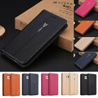 Luxury Magnetic Flip Leather Cover Wallet Stand Case For Samsung Galaxy Series