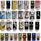 for Vodafone Smart Prime 6 895N 5.0inch Tiger Tower Rose Wolf Hard PC Case Cover