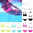 New Sexy Ladies Bandage Cross Strappy Cut Out Cage Bikini Set Swimsuit Swimwear