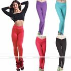 Women High V-waist Tight Casual Sport Leggings Fitness Yoga Run Tight Pants
