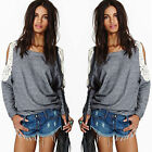 Women's Long Sleeve Loose Casual Blouse Shirt Tops Blouse Cocktial Fashion EE
