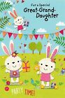cute great-granddaughter birthday card - 6 x cards to choose from!