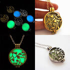 Vogue Steampunk Pretty Magic Fairy Locket Glow In The Dark Pendant Necklace