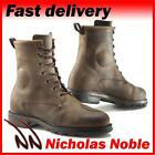 TCX X-BLEND WP 7300W BROWN VINTAGE STYLE WATERPROOF LEATHER CE MOTORCYCLE BOOTS