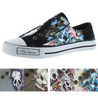 Moda Essentials Lowrise Women's Tattoo Canvas Sneakers Shoes