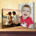"""Your Personalised Photo on Canvas Print 8"""" x 6"""" Framed A5 Ready to Hang"""
