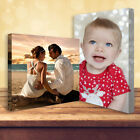 "Personalised Photo on Canvas Print 16"" x 12"" Framed A3 38mm DEEP Premium Frame"