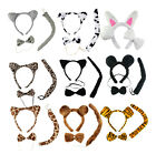 Makeup Party Adult Child Animal Ears Hairband Headband Tail Costume Accessory