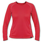 Paramo 2nds - Ladies Cambia L/SL Sports Crew Neck Flame