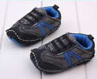 Baby Boy Sneakers Sport Casual Runner Crib Shoe Pre Walker Shoe