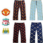 Boys Football Lounge Pants Kids Pyjama Bottoms Manchester Utd City Liverpool Fc