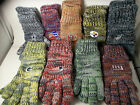 NFL Pick YOUR Team Knit Peak Gloves Winter Forever Adult 1 Size Color Logo Nwt on eBay