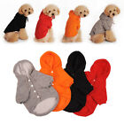 Puppy Pet Dog Clothes Hoodie Winter Warm Sweater Coat Costume Apparel S-XXL NE