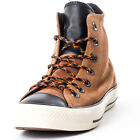 Converse Chuck Taylor All Star Hi Top Unisex Suede Tan Trainers New Shoes