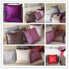 New Glitter Sequins Cushion Cover Throw Pillow Case Cafe Home Decor 7 Colors LA
