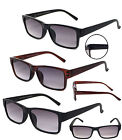 2 Pairs Combo Premium Quality Tinted Sun Readers Reading Glasses Sunglasses RE67