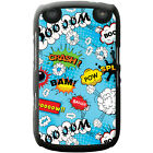 Comic Action Bubble Adjective Wallpaper Hard Case For Blackberry 9320