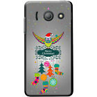 Merry Christmas Christmas Decorations Hard Case For Huawei Ascend Y300