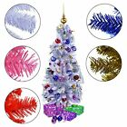 Artificial Xmas Christmas Tree JAZZY WONDERLAND 120 cm 3.9 ft in 5 funky Colours