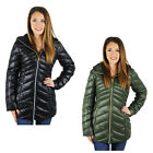 Jessica Simpson Women's Long Packable Down Coat Jacket Plus Size Avail