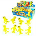 Boys Girls Childrens Kids Yellow Stretchy Happy Man Men Party Birthday Fillers
