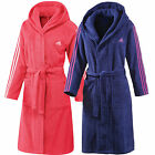 adidas Performance Bathrobe Ladies Bathrobe Sauna Coat Dressing Gown Kimono NEW