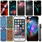 For Apple Iphone 6 Plus 5.5 inch Mandala Galaxy PATTERN HARD Case Cover + Pen