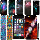 For Apple iPhone 6 4.7 inch Mandala Galaxy PATTERN HARD Case Phone Cover + Pen