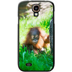 Orangutan Monkey Primates Animal Hard Case For Samsung Galaxy S4 (i9500)