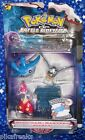 Pokemon Medicham Mantyke Starly DP Battle Dimension Action Figure Set Jakks MISP