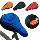 MTB Cycling Bike Bicycle 3D Silicone Saddle Seat Cover Gel Cushion Soft Pad
