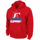 NEW Mens MAJESTIC Los Angeles LA Clippers Game Face Red Hoodie NBA Sweatshirt on eBay