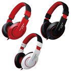 OVLENG 3.5mm Jack Wired Stereo Headset Headphones DJ with Mic Over Ear for Games