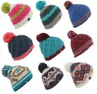Whiteley Fischer Big Fish Hand Knit Pom Bobble Beanie (Mens/Ladies/Unisex)