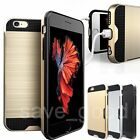 New Luxury Shockproof Armor Hard Hybrid Rubber Case Cover For iPhone 6 6s Plus