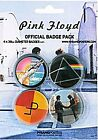 Pink Floyd pack of 4 round pin badges    (mm)  REDUCED TO CLEAR---