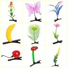 10pcs Kids Adults Grass Leaf Plant Flower Fruit Headwear Hairpins Hair Clips C