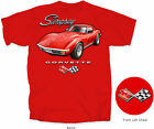 Corvette Stingray T-Shirt Red