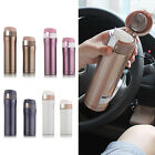 Travel Mug Flasks Office Thermos Cup Tea Coffee Water Cup Bottle Stainless Steel