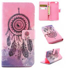 Novel Pink Leather Dream Catcher PU Leather Card Stand Cover Case For CelePhones