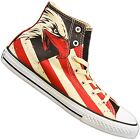 CONVERSE ALL STAR CHUCKS TAYLOR HI BALD EAGLE USA US ADLER SCHUHE 645156C
