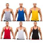 Chic Mens Sleeveless Shirt Tanks Blouse Sports Running Gym Athletic Vest Tops LA