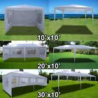 New Deluxe White Outdoor Party Wedding Tent Gazebo Events Pavilion - Choose
