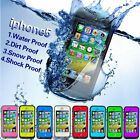 Waterproof Shockproof Dirtproof Mobile Phone Cover Case for Apple iPhone 5 5s