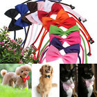 Lovely New Dog Cat Collar Bowtie Pet Necktie Bowknot Kitty Puppy Bow Tie FREE