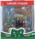 CLUE HEARTH SCENE Christmas Ornament Basic Fun Hasbro Game Retired NIB 1110 2005