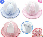 Kids Toddler Infant Girls Strawberry Sweet Candy Dot Bucket Sun Hats Summer Cap