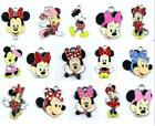 wholesale cartoon Minnie Metal Charm Pendant DIY Necklace Jewelry Making