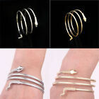 Coiled Punk Snake Spiral Upper Arm Cuff Armlet Armband Bangle Bracelet Anklet